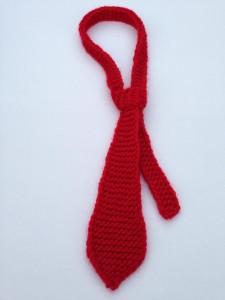 kézzel kötött baba nyakkendő