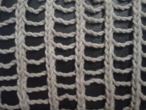 Ritka háló minta, Kötélhágcsó hálós minta