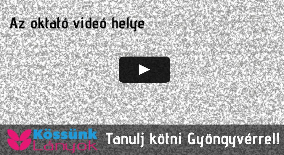 Oktató videó helye