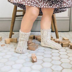 horgolt zokni gyerekeknek