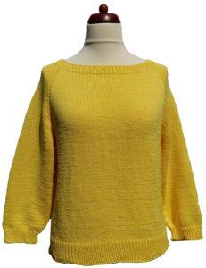 Körbe egybe kötött alap pulóver