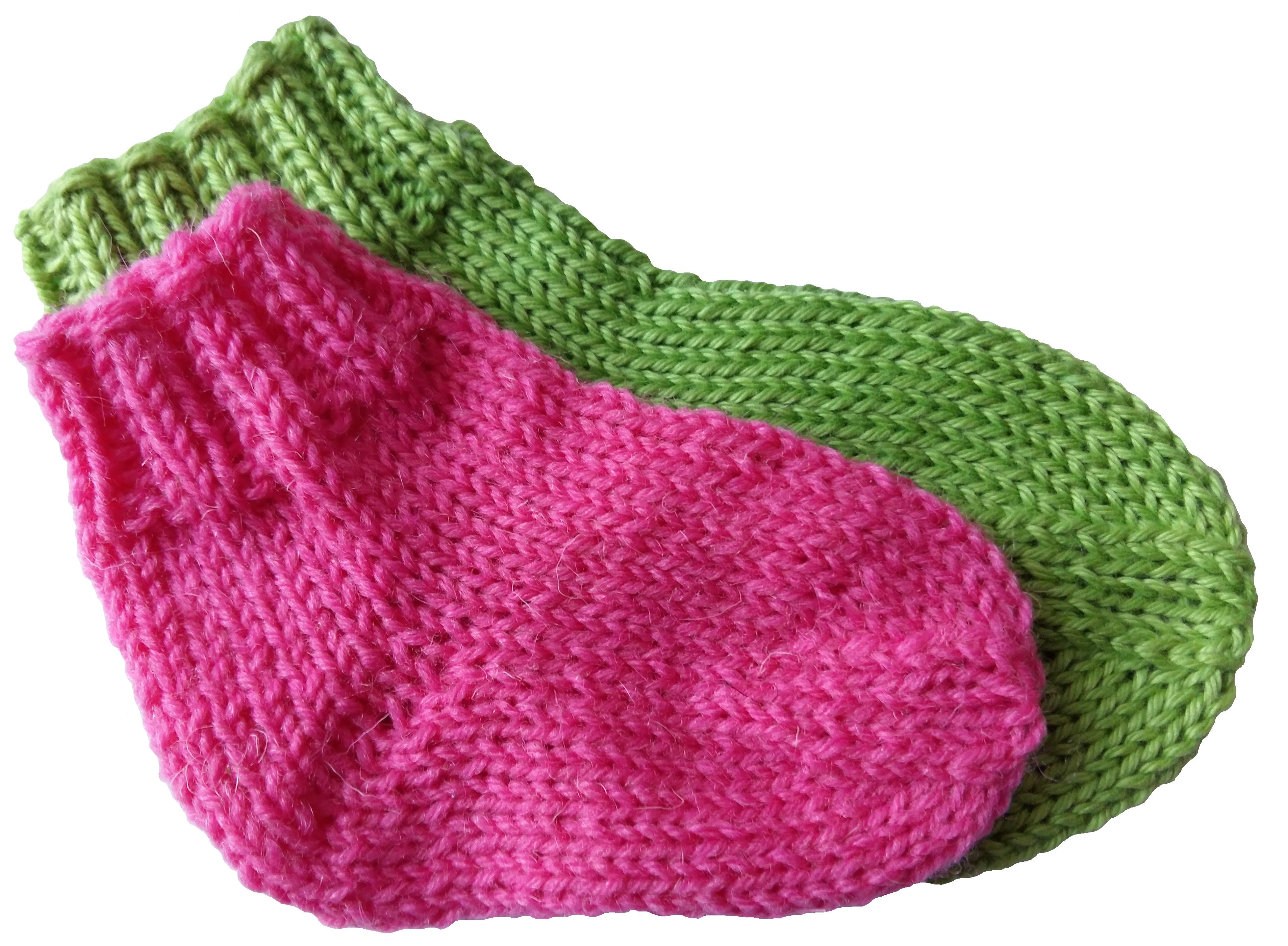 Baba zokni 0-6 és 12 hónapos babáknak
