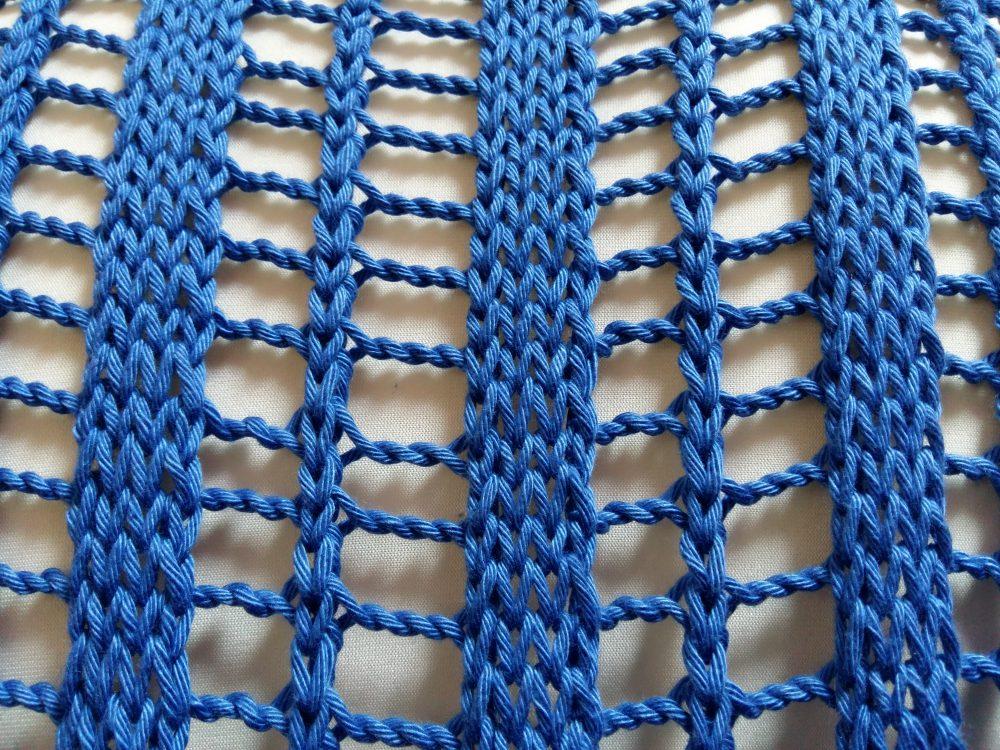 Kötélhágcsó minta, alapminta