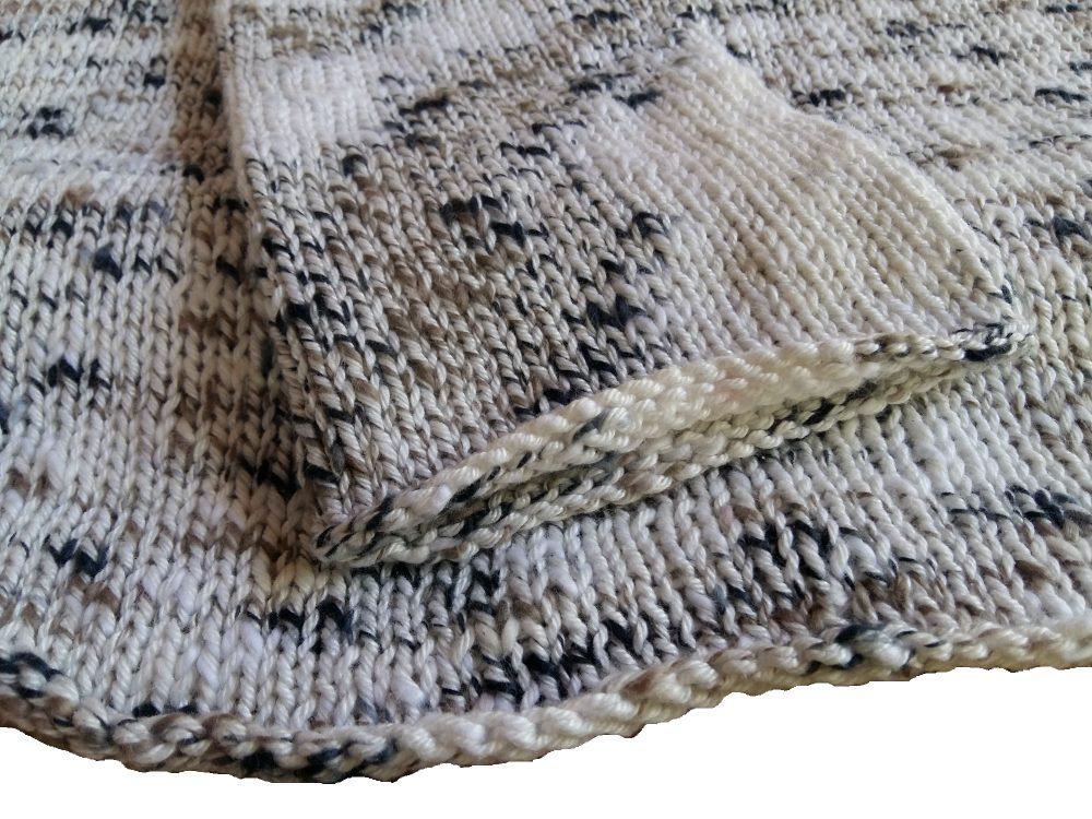Catania Flammé natur kötött nyári pulóver