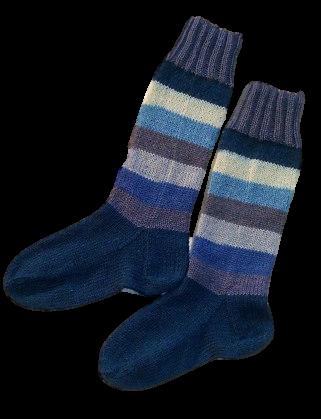 Pairfekt zokni fonal, csíkos festéssel
