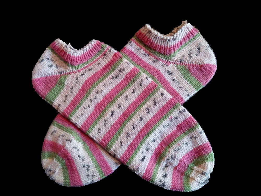 Tutti-frutti pamut zoknifonalból készült sárkánygyümölcs zokni