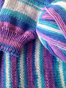 színátmenetes fonal vidám színekben
