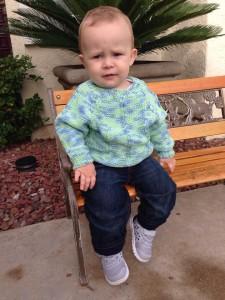kötött baba pulóver kisfiuknak