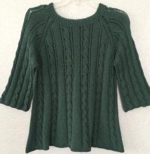 Csavart mintás nyári pulcsi