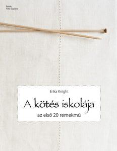 A kötés iskolája kézimunka könyv